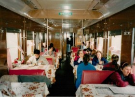 food on trans-siberian railroad