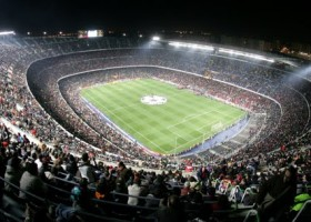Camp Nou for FC Barcelona