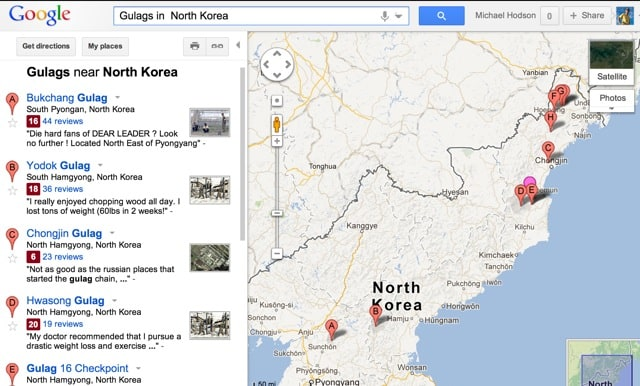 Your North Korean prison camps