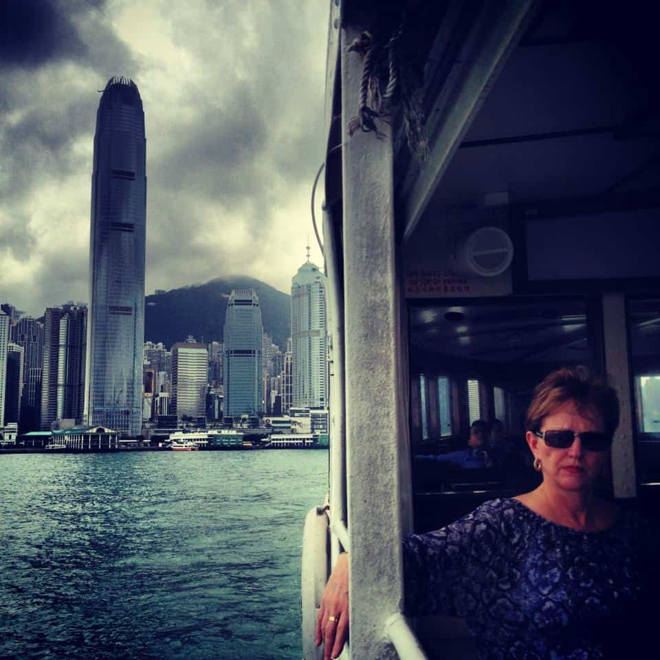 instagram photo Tourist on the Star Ferry Hong Kong