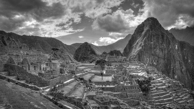 The Colors Of Peru And Black And White In Photographs