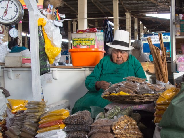best photos of peru cusco market
