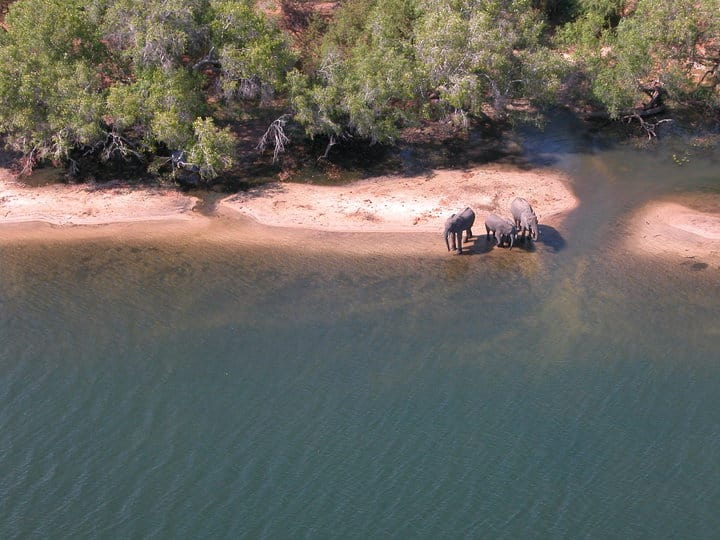 The Zambezi from the Air