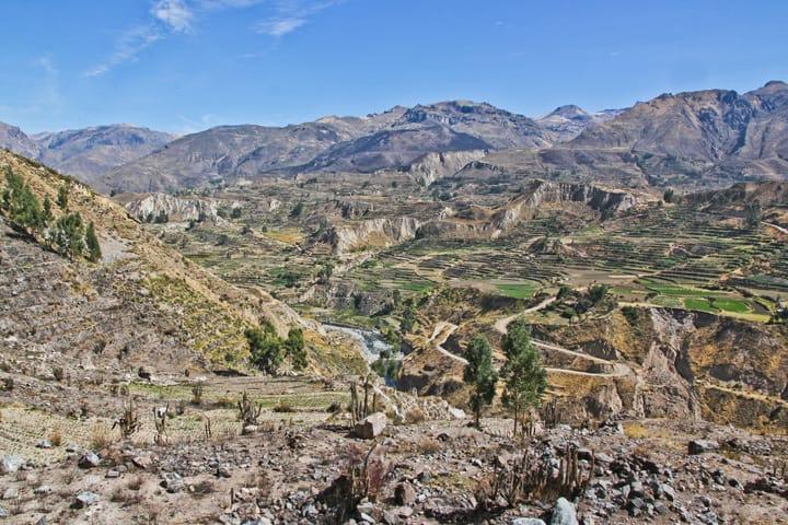 The Colca Canyon, Peru