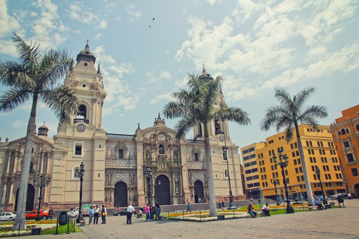 Lima's Plaza del Armas