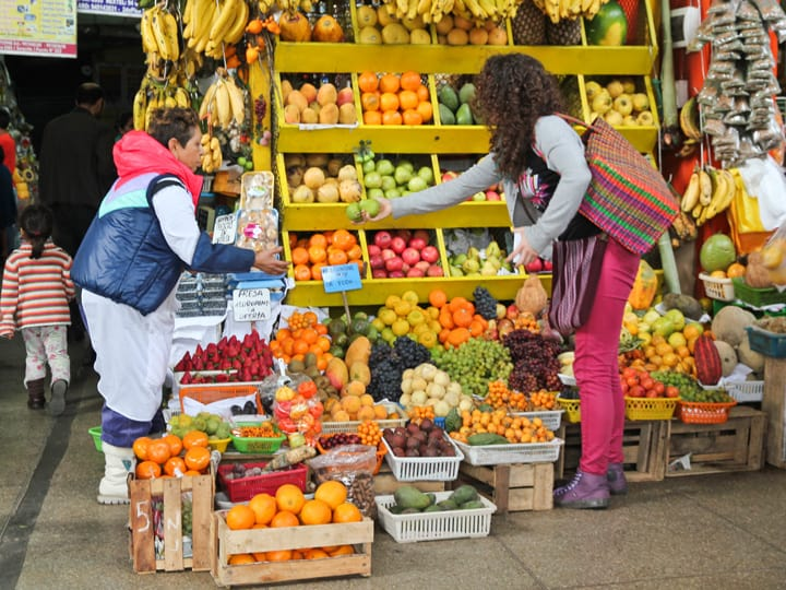 A Colorful Lima Market