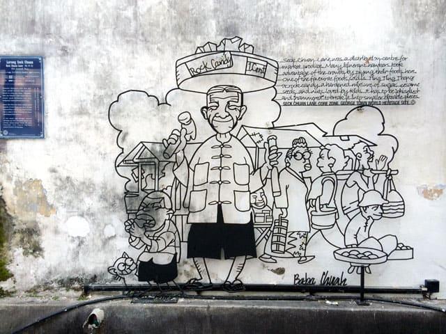 Penang Street Art - Rock Candy MGT