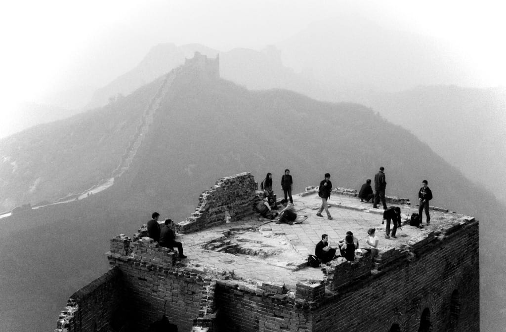 Great Wall of China Noir