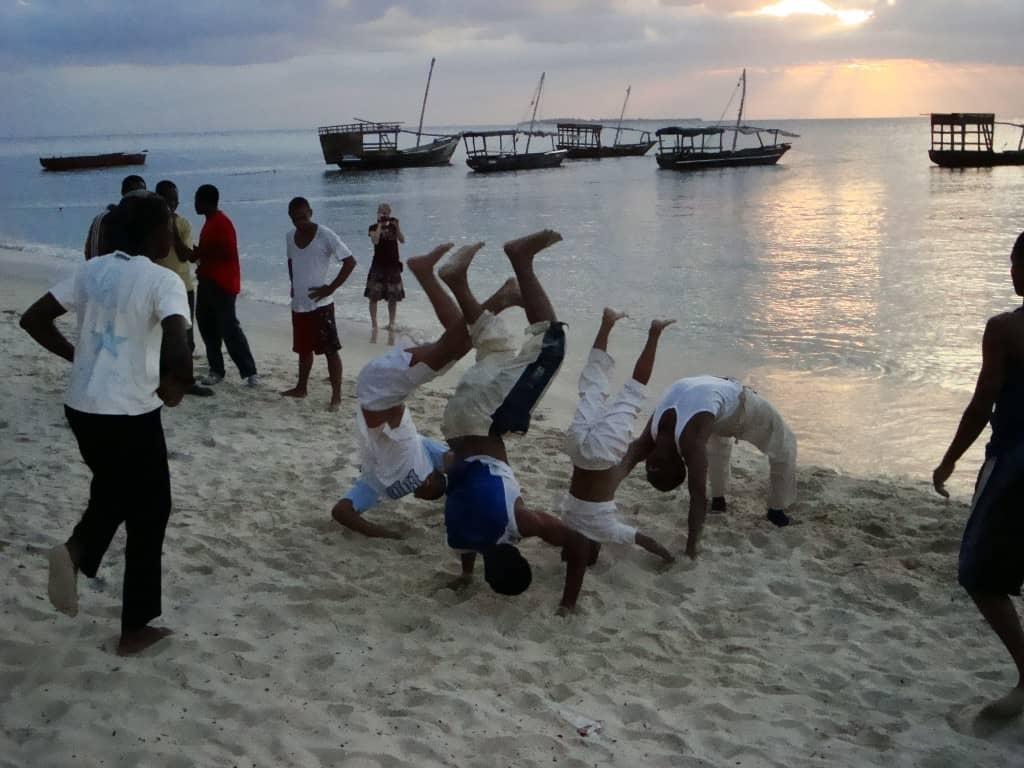 Capoeira in Stone Town