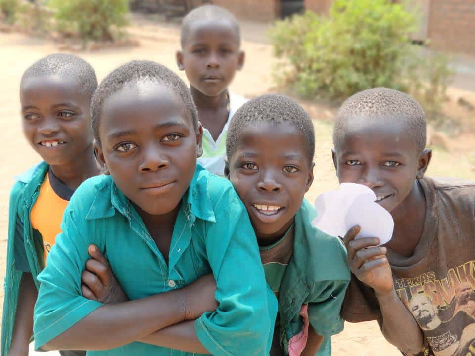 Kids in Malawi