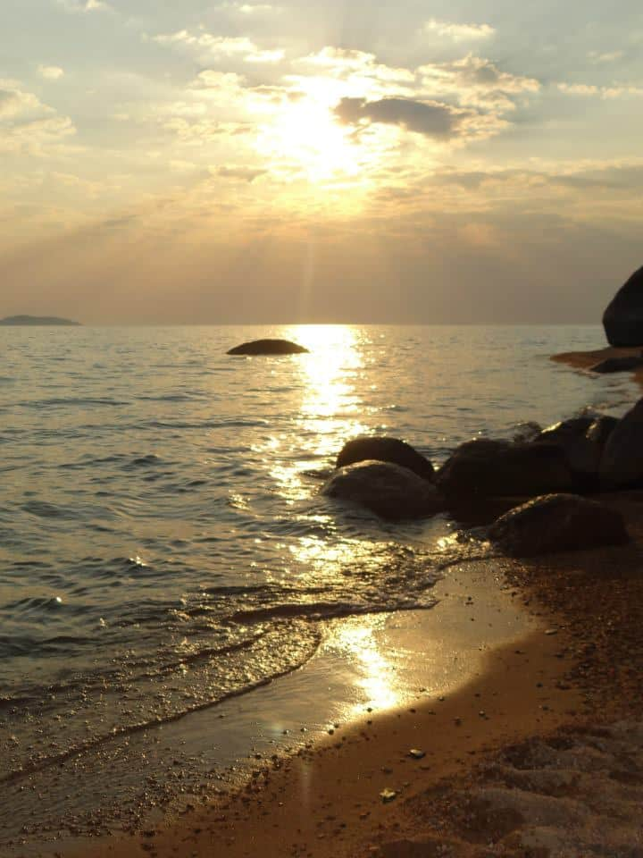 Lake Malawi Nyasa Sunset