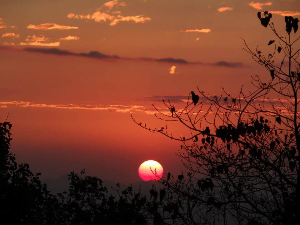 Sunset in Malawi