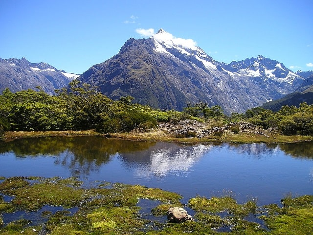 The South Island of New Zealand.