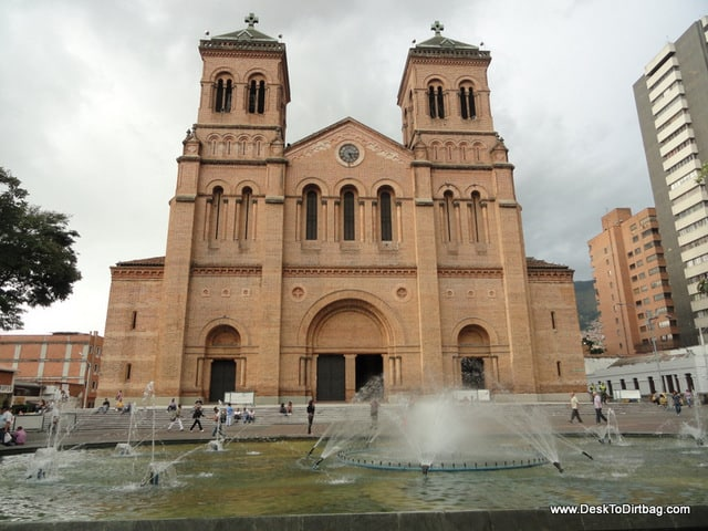 The Metropolitan Cathedral in El Centro.