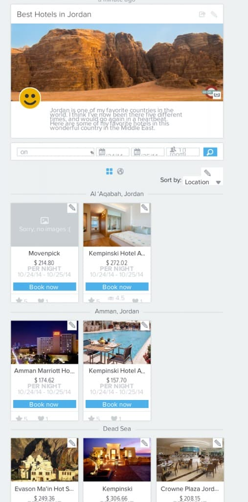 Best hotels in Jordan via Yonderbound