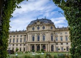 The Royal Residenz in Wurzburg, Germany.
