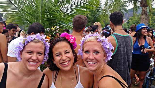 Thoroughly enjoying my first Carnaval in Rio de Janeiro