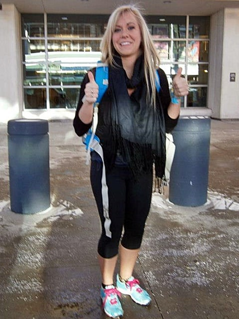 Steph Taking off For Thailand