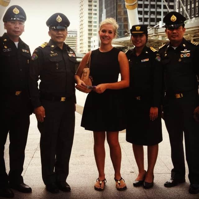 Bangkok Tourist Police