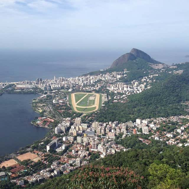 The view from Christ the Redeemer