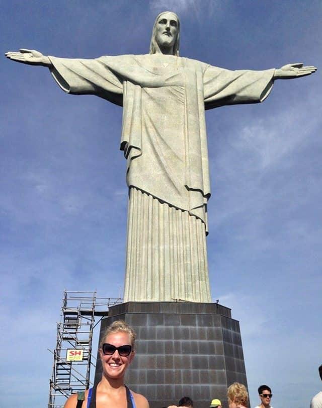Christ the Redeemer Brazil Selfie
