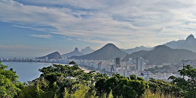 View from Morro do Leme