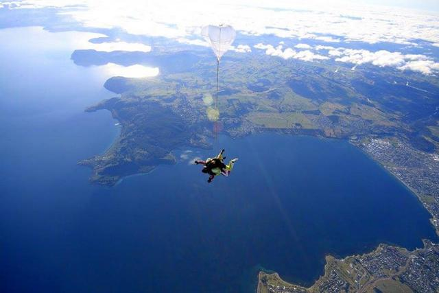 Skydiving in Taupo New Zealand