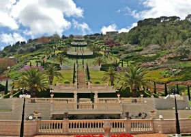 Exquisitely manicured Baha'i Gardens