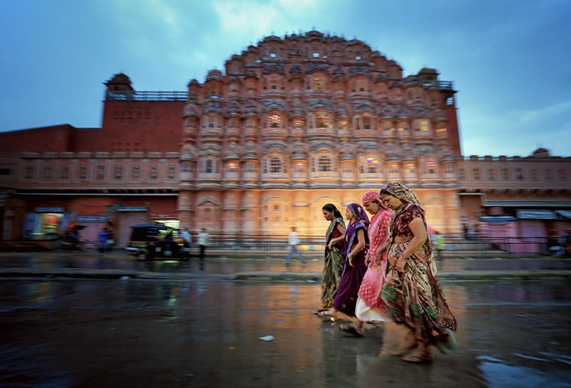 Women in Jaipur