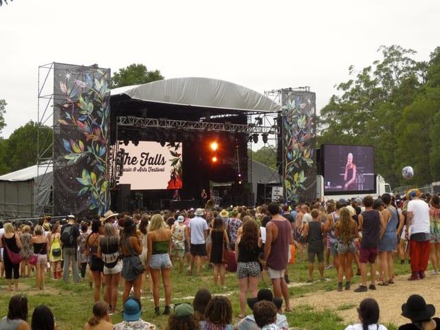 Falls Festival - Byron Bay, Australia