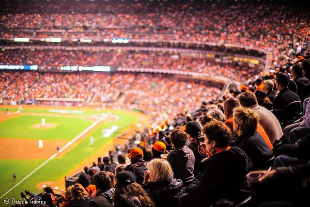San Francisco Giants Baseball Game - California
