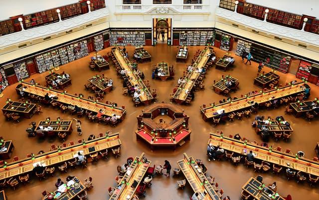 State Library of Victoria in Melbourne, Australia