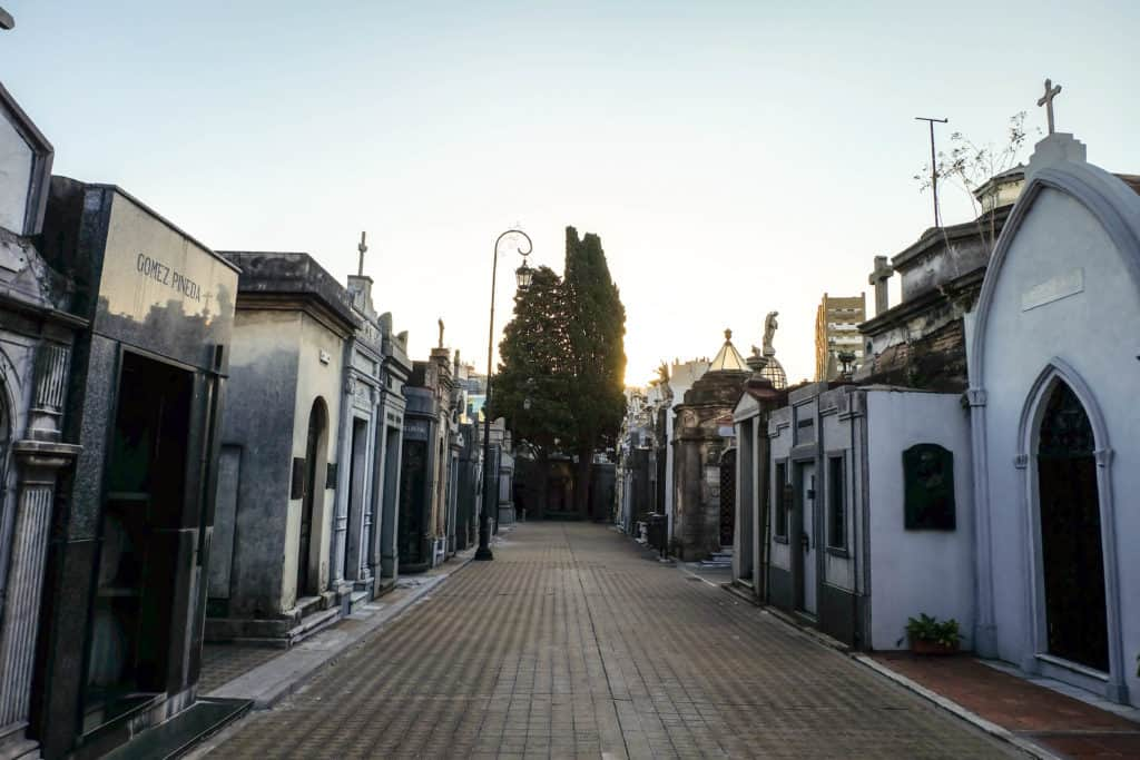 A walk through La Recoleta Cemetery in Buenos Aires