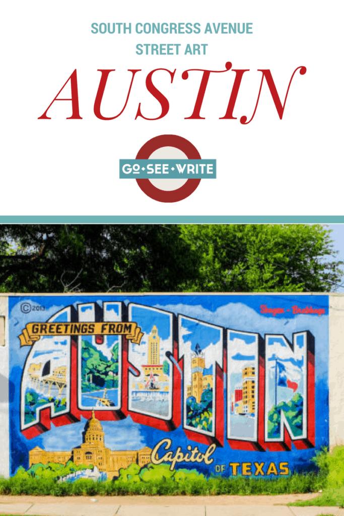 South Congress Avenue street art