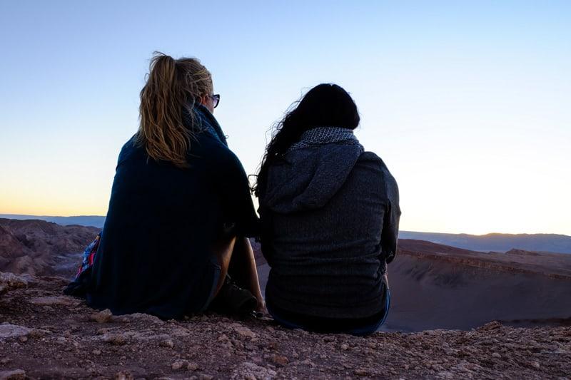 Stephanie and Lavi Chile