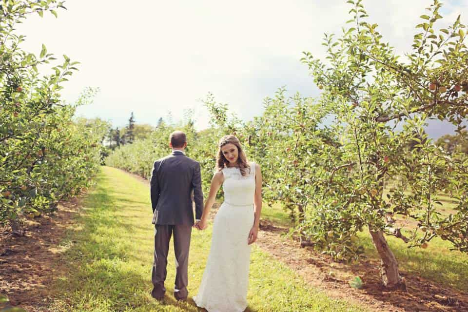 Fall weddings are a thing here because, oh I don't know, they're gorgeous?! Photo credit: Fenton Photography