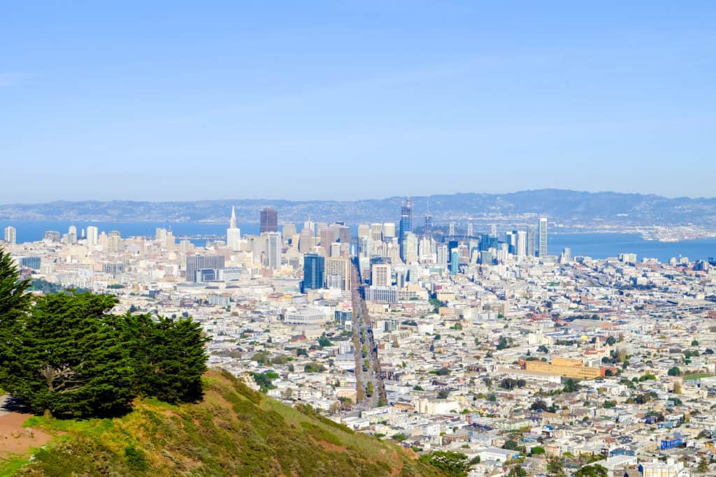 7 Most beautiful viewpoints in San Francisco