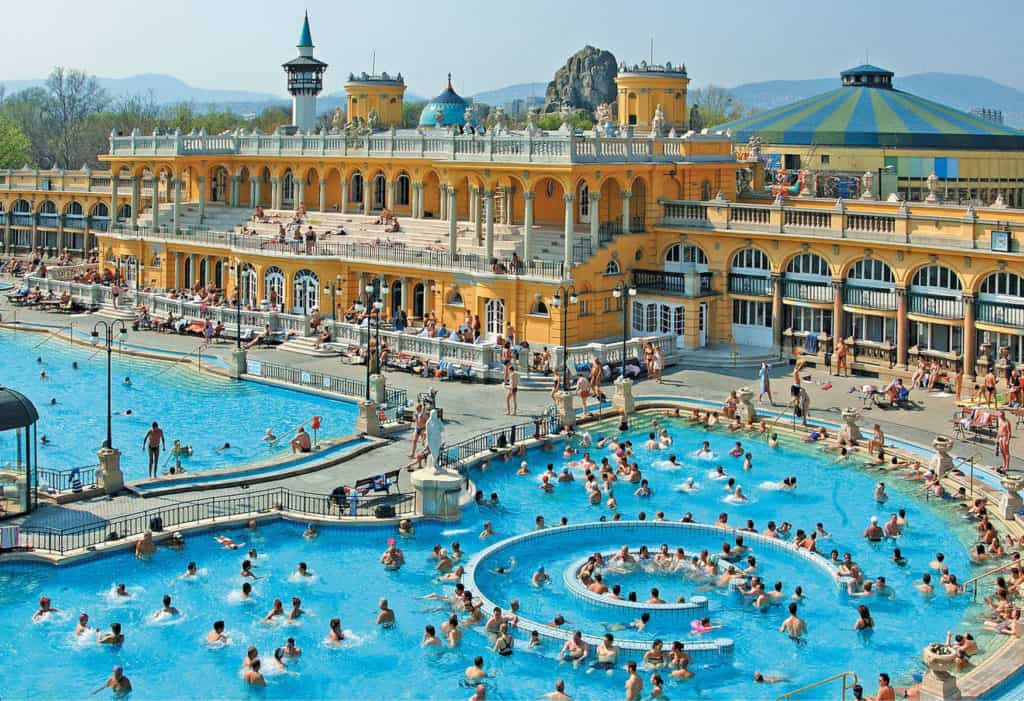 Budapest's natural thermal spas