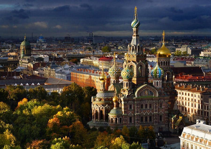 A guide to St. Petersburg