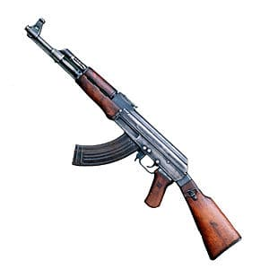 ak47 assault rifle, gun