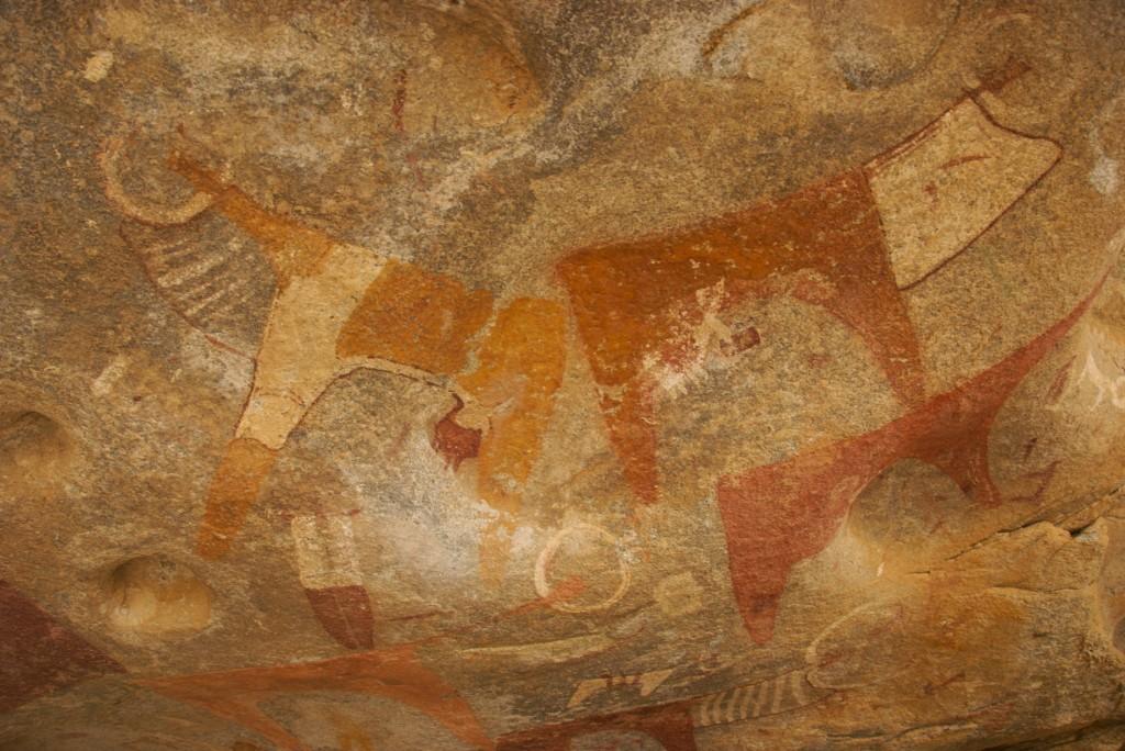 laas gaal, rock art, cows and horses cave art