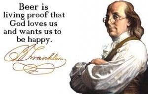 Beer and Ben Franklin