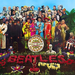 famous beatles album cover sgt peppers lonely hearts club band