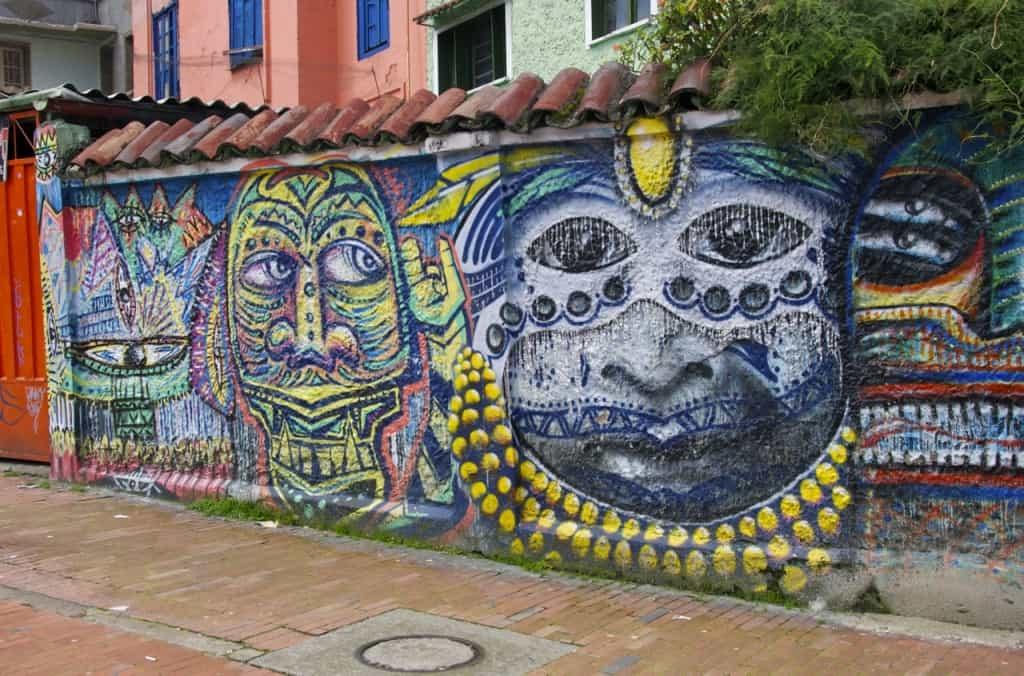 bogota street art graffiti