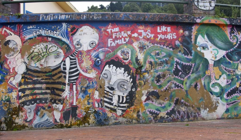 street kids bogota street art graffiti