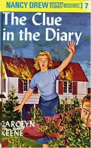 nancy drew book cover