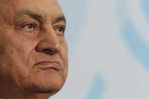 hosni mubarak staring right egypt #jan25