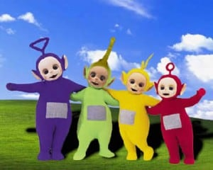 the scary teletubbies