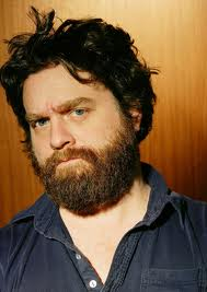 Zach Galifianakis bearded profile