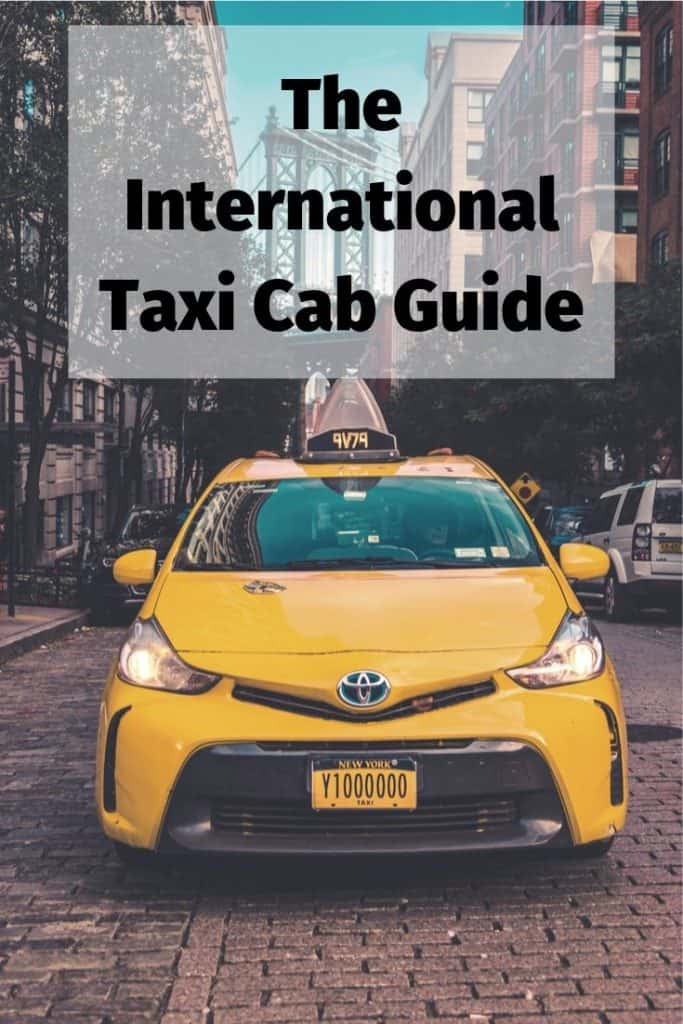 international taxi cab guide